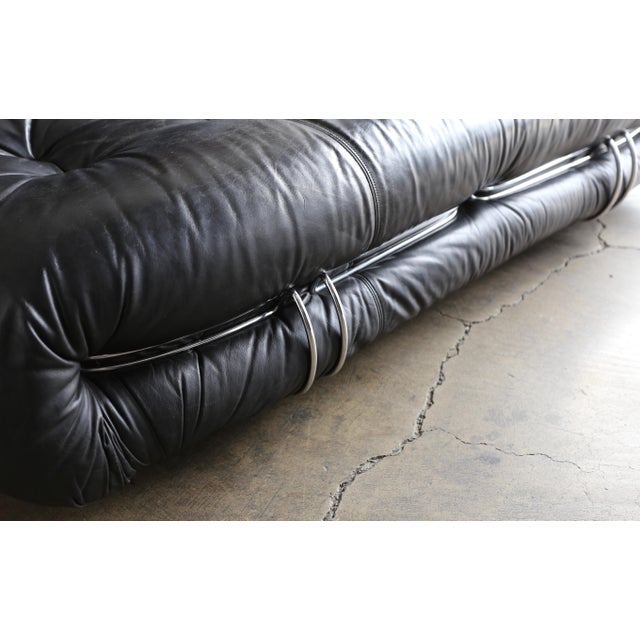 Soriana Settee by Afra & Tobia Scarpa for Cassina For Sale - Image 11 of 13