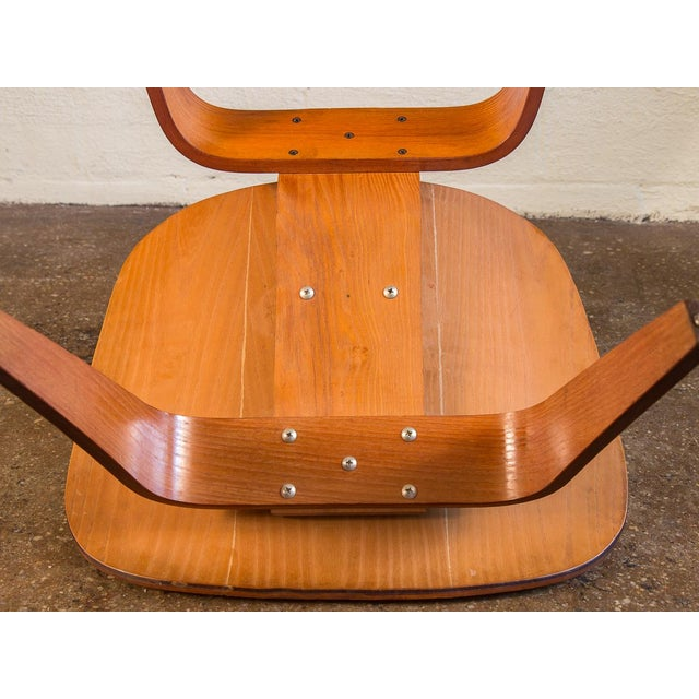 1950s Eames Ash LCW for Herman Miller Chair For Sale - Image 11 of 12