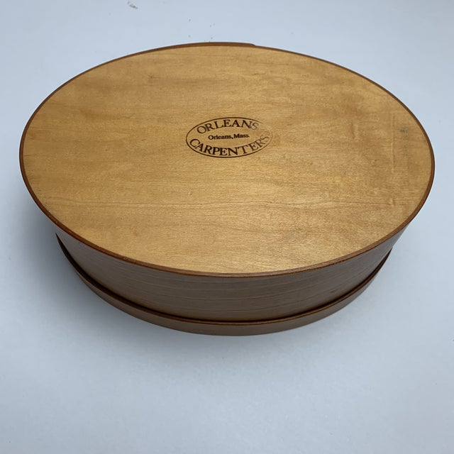 1970s Orleans Carpenters Shaker Box For Sale - Image 5 of 6