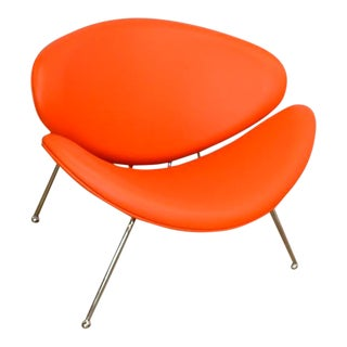 Mid-Century Modern Orange Slice Chair by Pierre Paulin For Sale