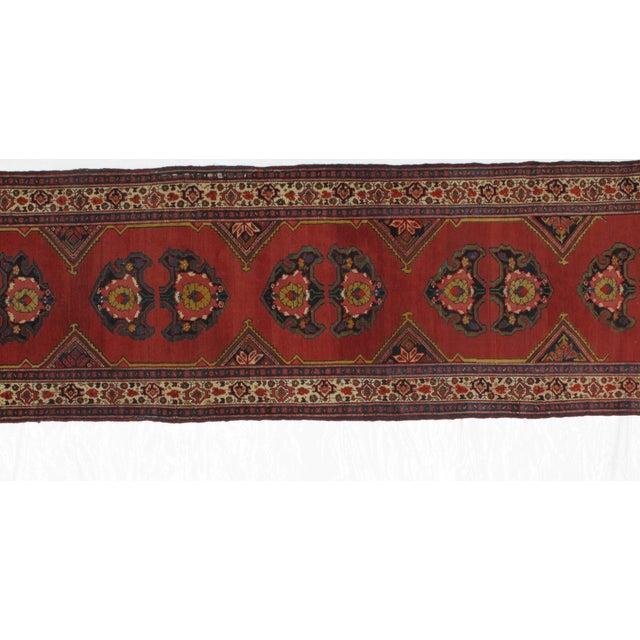1920s Leon Banilivi Vintage Persian Mishan Malayer Rug - 3′8″ × 15′5″ For Sale - Image 4 of 7