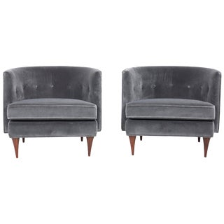 Pair of Harvey Probber Lounges For Sale