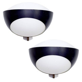 Max Ingrand Sconces for Fontana Arte, Italy, 1960s For Sale