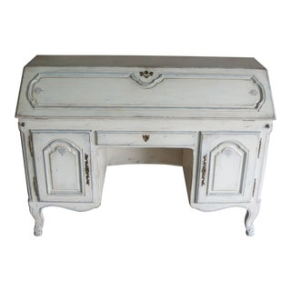 20th Century Shabby Chic Secretary Desk For Sale