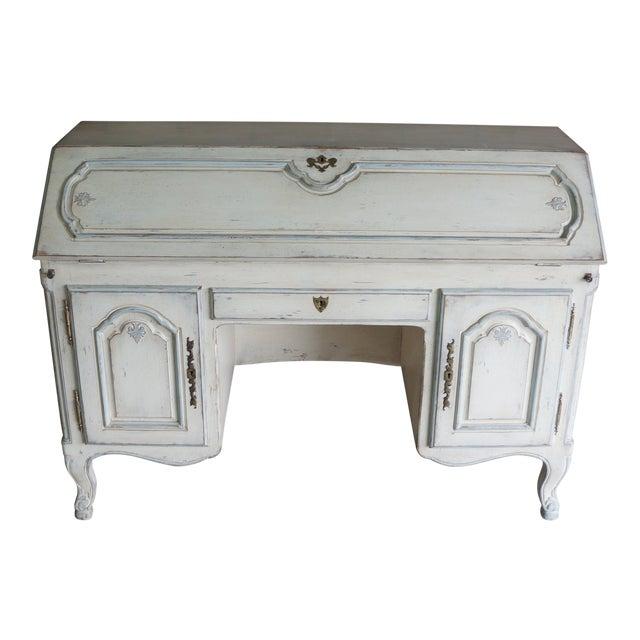 20th Century Shabby Chic Secretary Desk For Sale