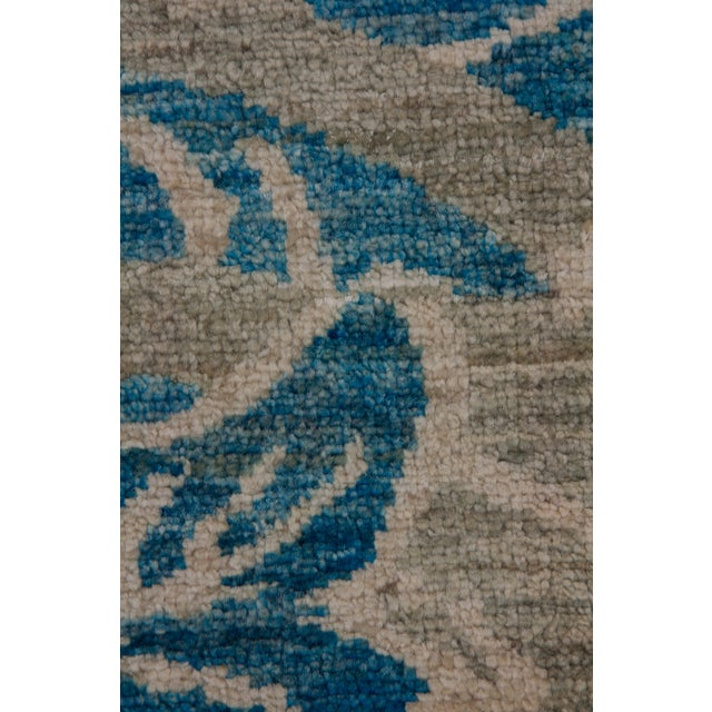 """Contemporary Ziegler Hand Knotted Area Rug - 6'4"""" X 9'3"""" For Sale - Image 3 of 3"""