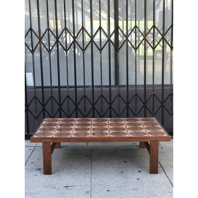 Danish Mid Century Tile-Top Coffee Table - Image 13 of 13