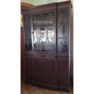 20th Century Gothic Mahogany China Cabinet Preview