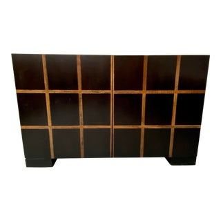 Modern Mixed Wood Credenza For Sale