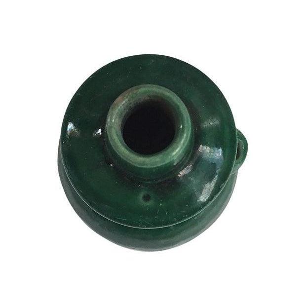 Majolica Chinese Majolica Vase For Sale - Image 4 of 4