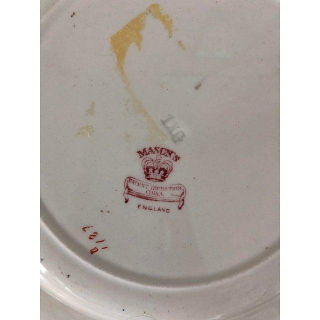 Antique Ashworth Mason's Ironstone Imari Plates - A Pair For Sale - Image 9 of 10