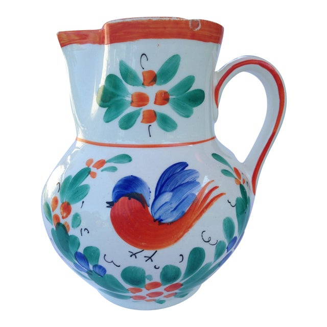 Antique Czech Pottery Creamer - Image 1 of 3