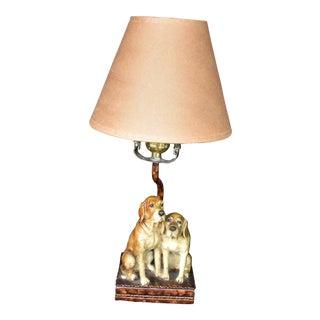 Paper Shade Beagle Lamp