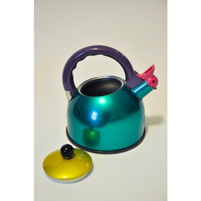 Memphis Memphis Era Color Block Teapot For Sale - Image 3 of 4