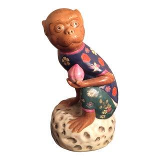 Rare Monkey King Sun Wukong Statue For Sale