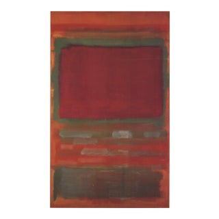 Mark Rothko, Untitled, #15, Offset Lithograph For Sale