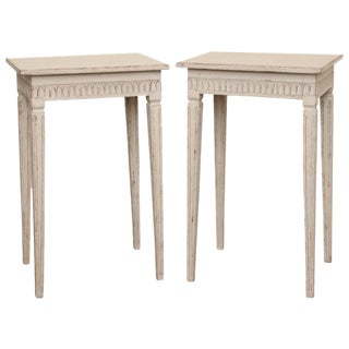 Pair of Antique Swedish Small Side Table, 19th Century