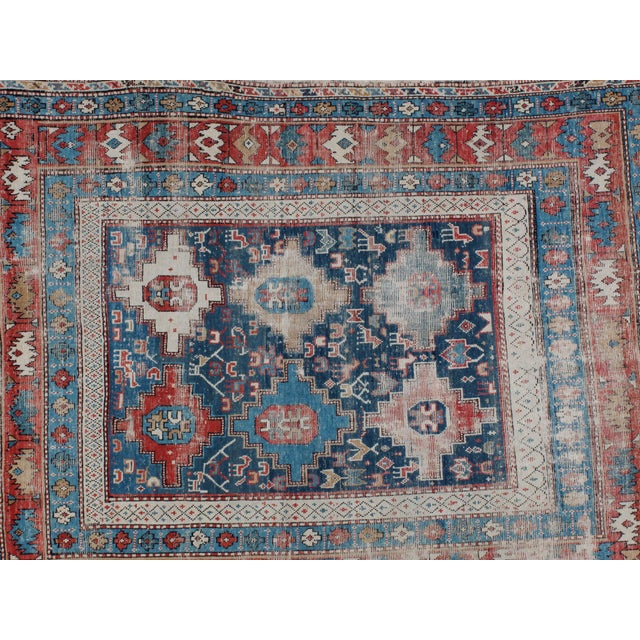 "Leon Banilivi Antique Shirvan Rug - 5'2"" X 3'9"" - Image 5 of 5"