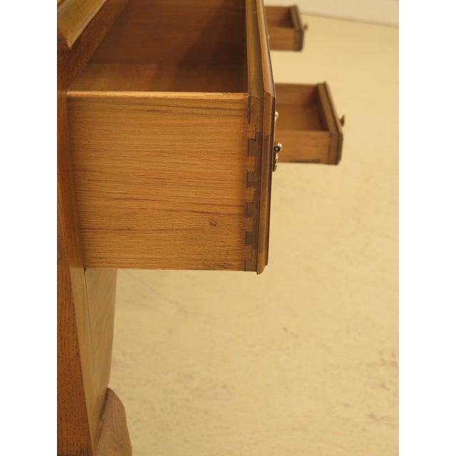 Baker English Style Oak & Walnut Sideboard For Sale In Philadelphia - Image 6 of 12