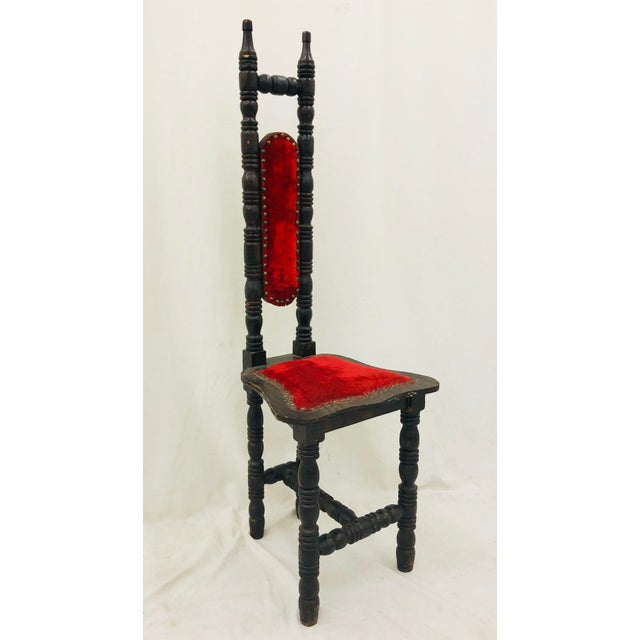 Antique Wooden Chair For Sale - Image 13 of 13