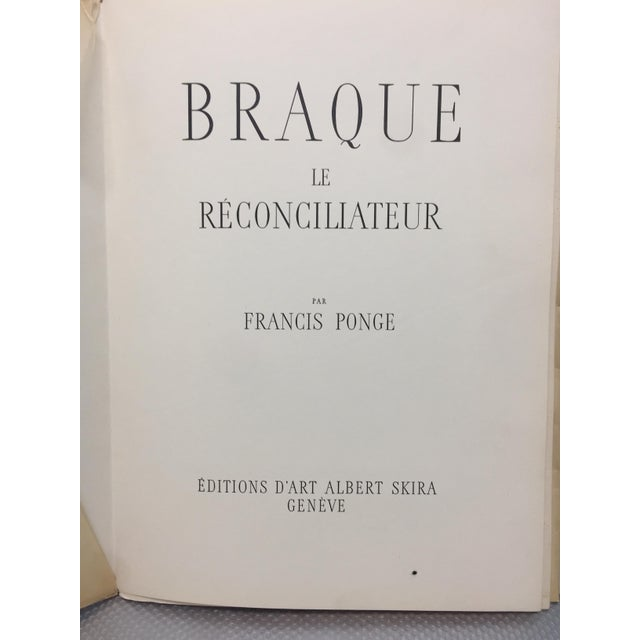 Georges Braque portfolio of beautiful print reproductions of some of his greatest Cubist works. Printed in Switzerland in...