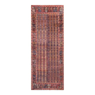 "Antique Persian Bijar Rug 5'6"" X15'6"" For Sale"