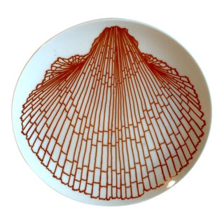 Vintage Fitz and Floyd Shell Plate For Sale