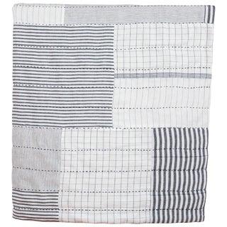 Indian Khadi Cloth Patchwork Quilt For Sale