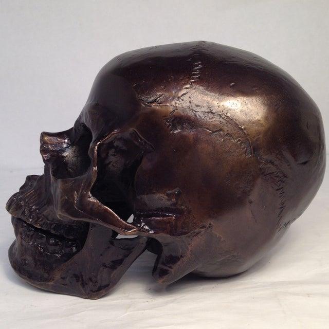 Metal Skull Sculpture - Image 4 of 7