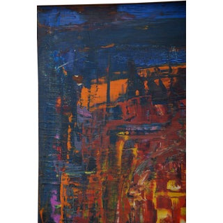 Abstract Oil in Board For Sale