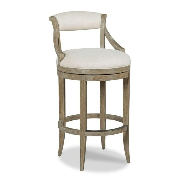 Traditional Modern Taylor Counter Stool For Sale - Image 3 of 3