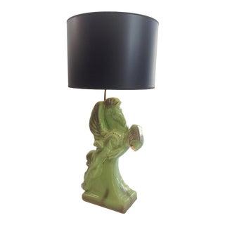Mid-Century Animal Pegasus Lamp