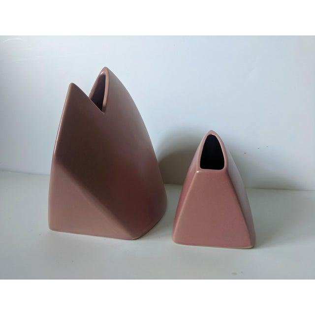 Set of 2- 1980s Modernist J Johnston Sculptural Vessels For Sale In Charlotte - Image 6 of 12
