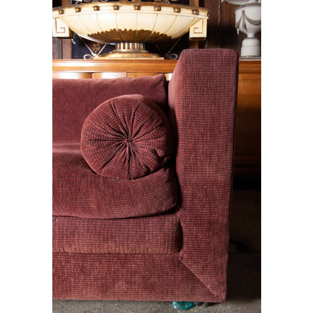 1990s Vintage Custom Made John Saladino Sofa For Sale - Image 10 of 34