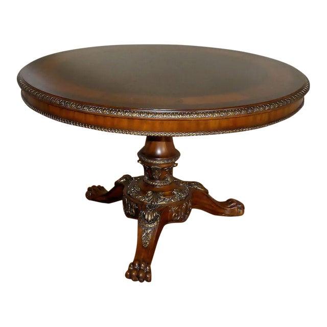 Maitland Smith Burlwood Inlay Center Table