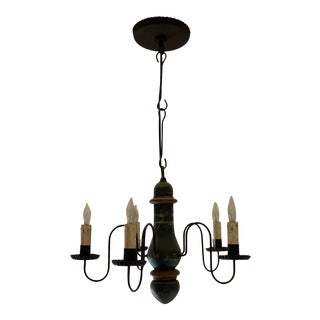 Late 20th Century Rustic Chandelier For Sale