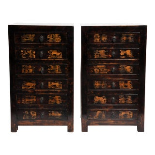 Chinese Side Chests - a Pair For Sale