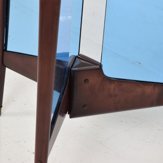 Ico Parisi Mid-Century Modern Italian Coat Rack Room Divider After Ico Parisi For Sale - Image 4 of 9