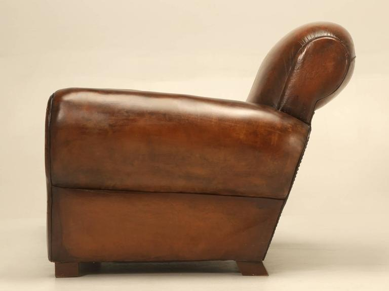 Superieur French Art Deco Club Chair For Sale   Image 10 Of 10