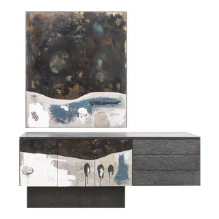 Stefan Rurak, Console Diptych, Usa, 2019 For Sale