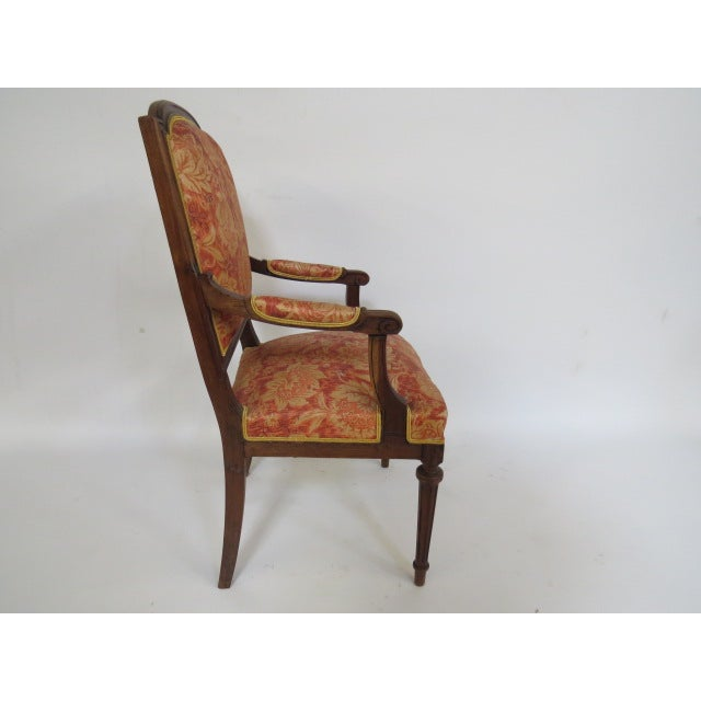 French 1900's Louis XVI Chair For Sale - Image 3 of 8