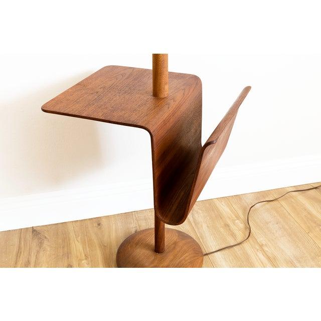 Mid Century Modern Walnut Laurel Floor Lamp Chairish