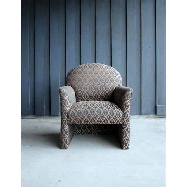 1980s Contemporary Armchairs, Set of 4 For Sale - Image 11 of 13