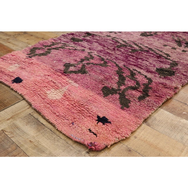 Vintage Berber Moroccan Talsint Rug Runner - 3'4 X 10'7 For Sale In Dallas - Image 6 of 10