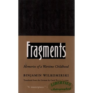 """1996 """"Fragments"""" Collectible Book For Sale"""