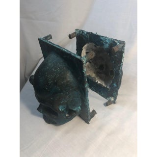 Vintage Bronze Skull Bookends - a Pair Preview