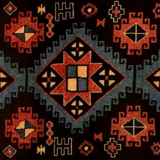 """Diamond Patterned Turkish Wool Oushak Rug - 4'8"""" X 12'2"""" Preview"""