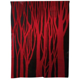"""""""Red Trees"""" by Jan Yoors For Sale"""