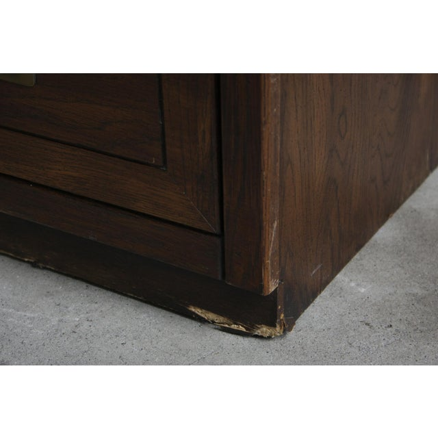 Campaign Style 7-Drawer Dresser For Sale - Image 9 of 11