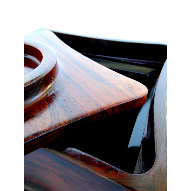 1960s Rosewood Ice Bucket by Jens Quistgaard for Dansk For Sale - Image 5 of 7